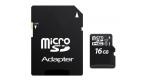 MicroSD UHS 1 16GB CL10
