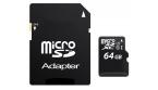 MicroSD UHS 1 64GB CL10
